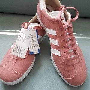 NWT | Adidas | Rose Pink Gazelle Sneakers
